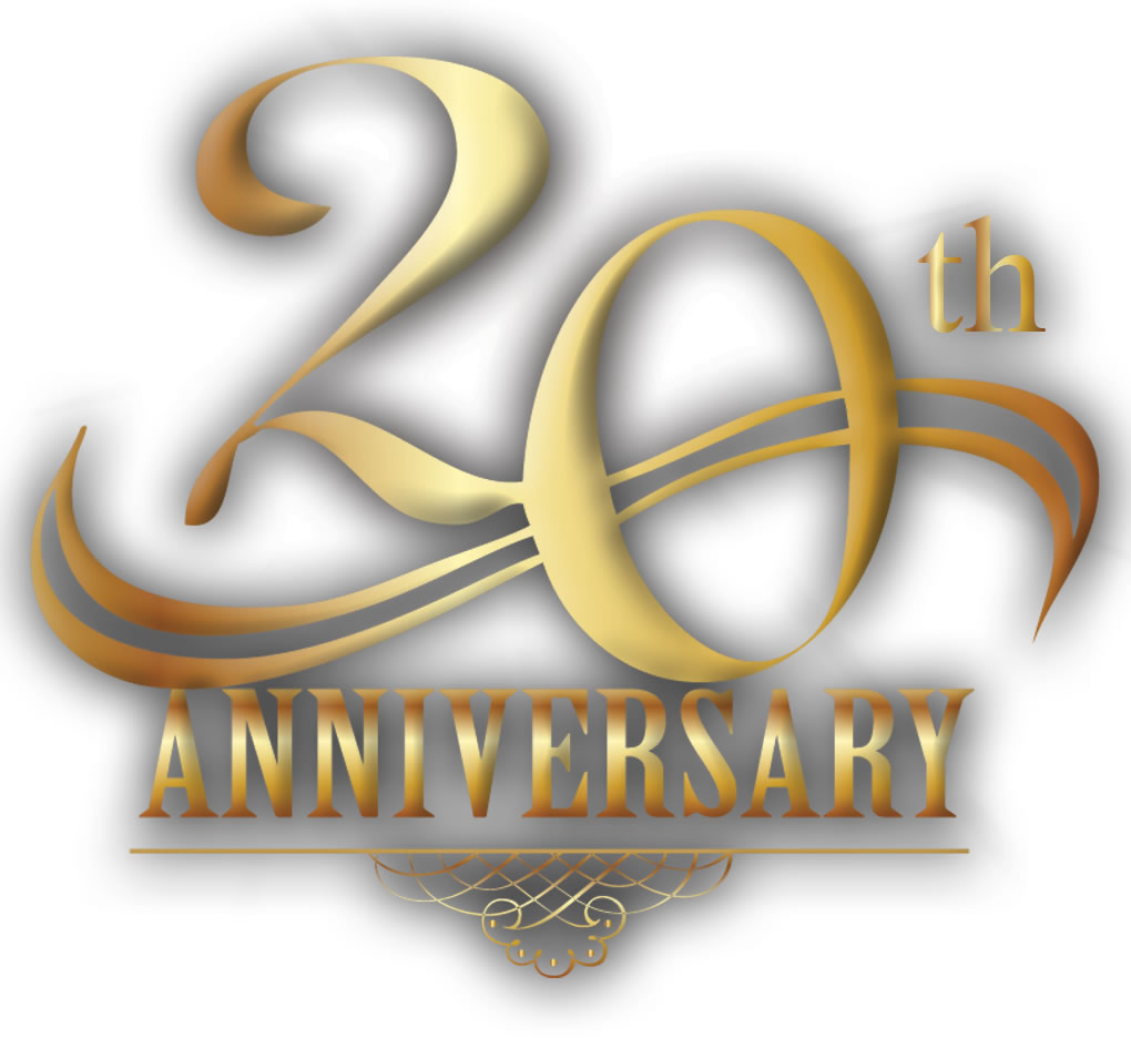 20th Anniversary Clipart - Clipart Kid jpg black and white library