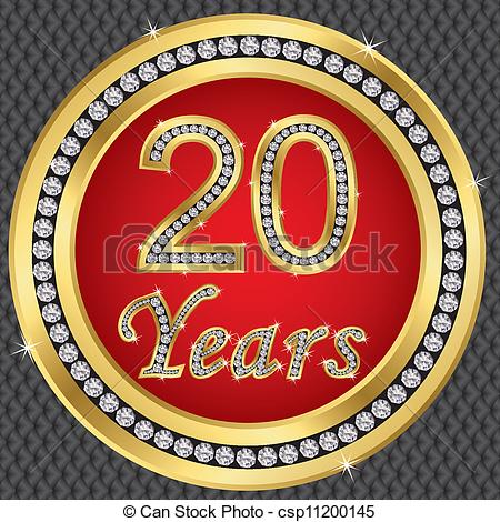 20 year clipart clip library library 20 Year Anniversary Clipart - Clipart Kid clip library library