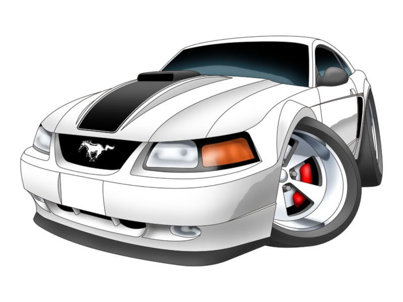 2000 mustang clipart clipart freeuse Free Cartoon Mustang Horse, Download Free Clip Art, Free Clip Art on ... clipart freeuse