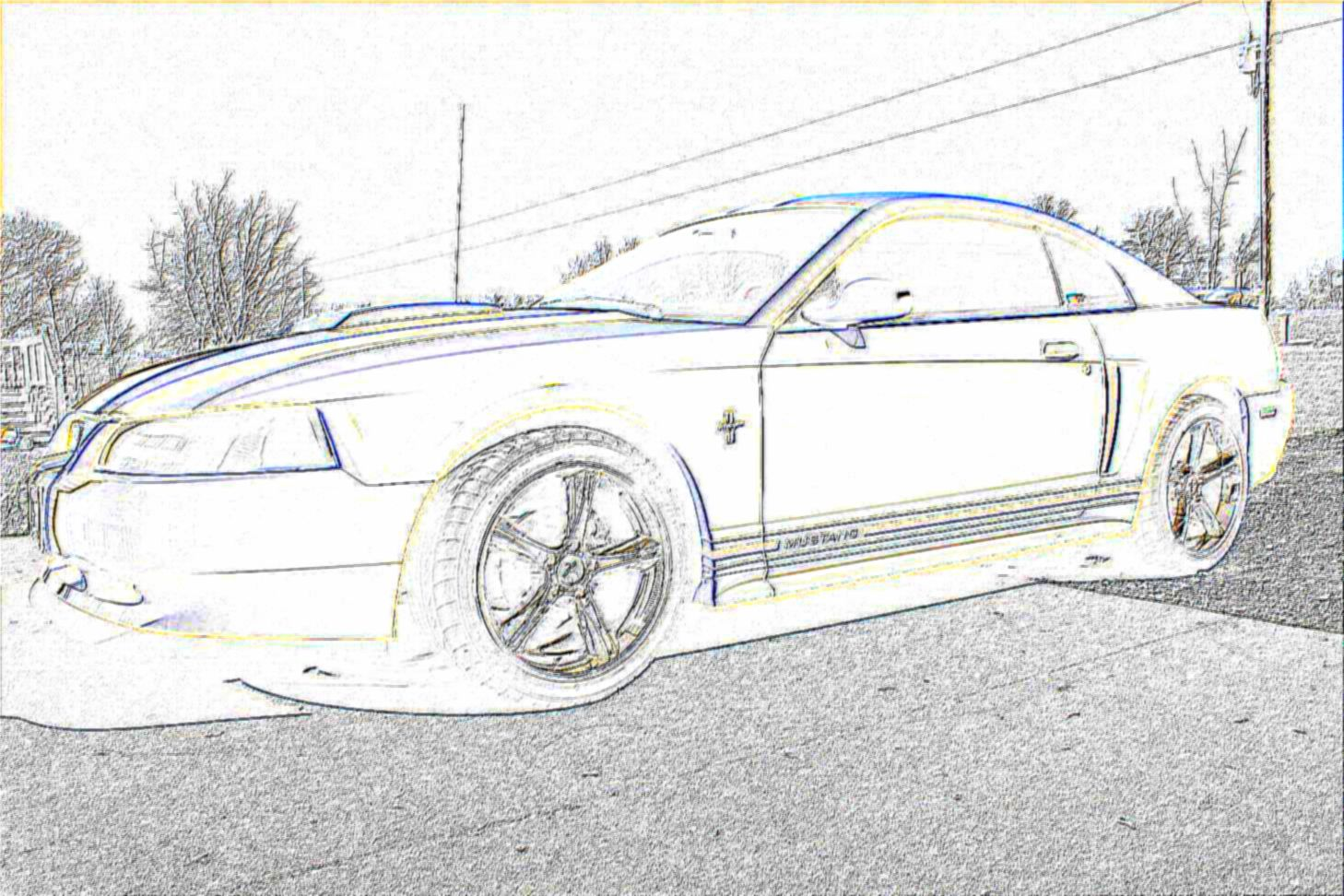 2004 mustang covertible clipart jpg library library 6 Mustang drawing front for free download on Ayoqq cliparts jpg library library