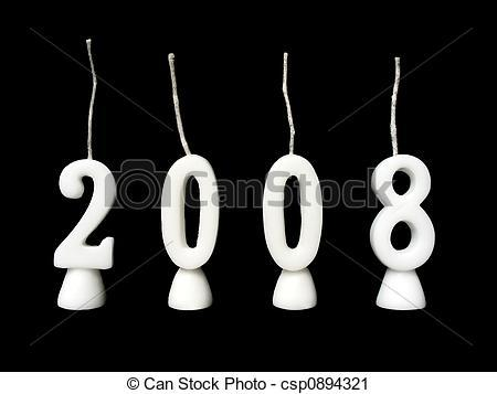 2008 clipart clip art black and white New years 2008 clipart 3 » Clipart Portal clip art black and white