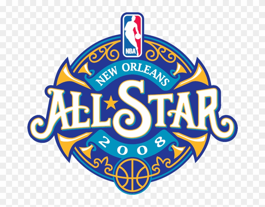 2008 clipart clip library stock Attend An Nba All Star Weekend With My Wife - New Orleans All Star ... clip library stock