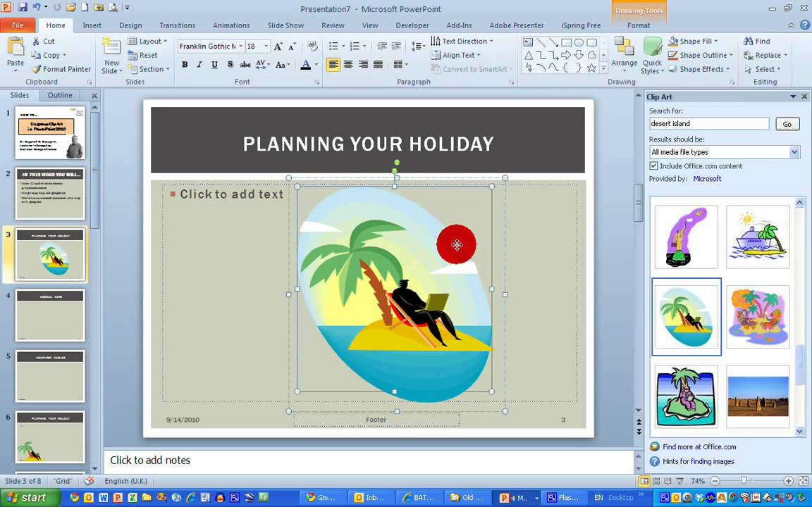 2010 microsoft powerpoint clipart black and white How To...Ungroup Clip Art in PowerPoint 2010 black and white