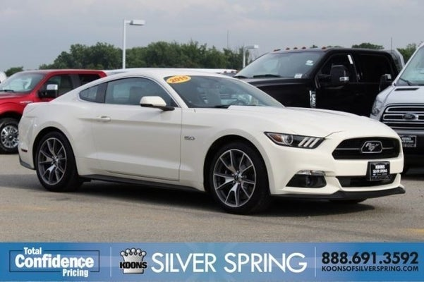 2015 mustang 50 year limited edition clipart banner stock 2015 Ford Mustang GT 50 Years Limited Edition banner stock