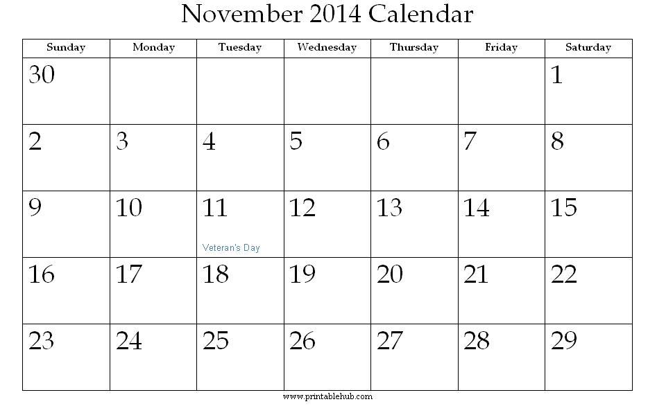 2015 november calendar clipart clip art Clipart calendar november 2014 - ClipartFest clip art