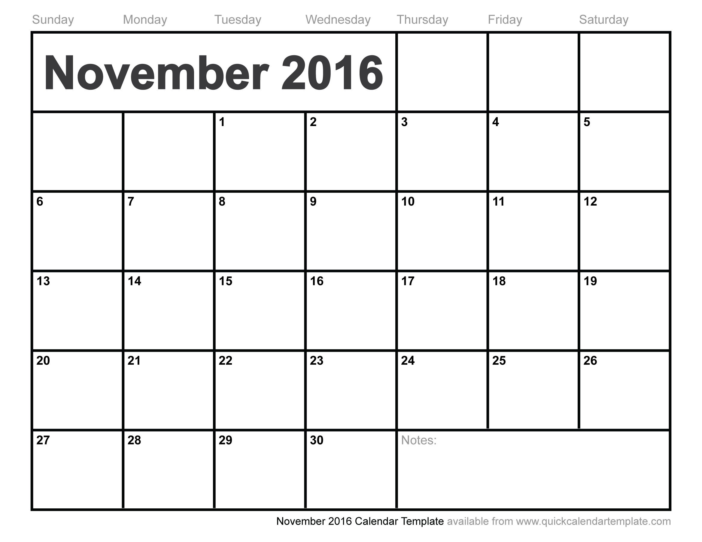 2015 november calendar clipart picture royalty free stock November calendar 2016 clipart - ClipartFest picture royalty free stock