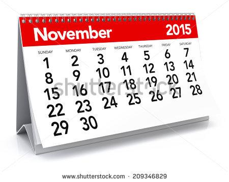 2015 november calendar clipart image freeuse download November Stock Images, Royalty-Free Images & Vectors | Shutterstock image freeuse download
