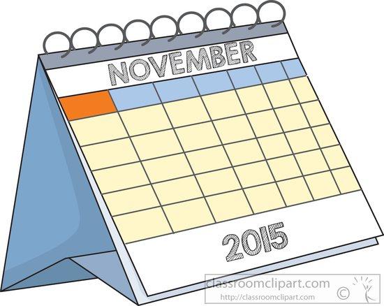 2015 november calendar clipart clip art black and white stock November calendar clipart 2015 - ClipartFest clip art black and white stock