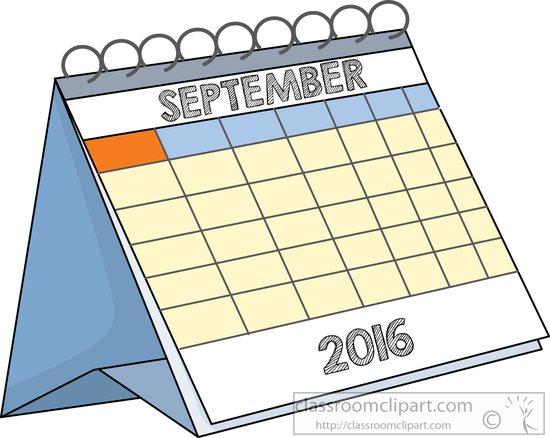 2016 calendar clipart clip royalty free stock Calendar clipart 2016 - ClipartFest clip royalty free stock