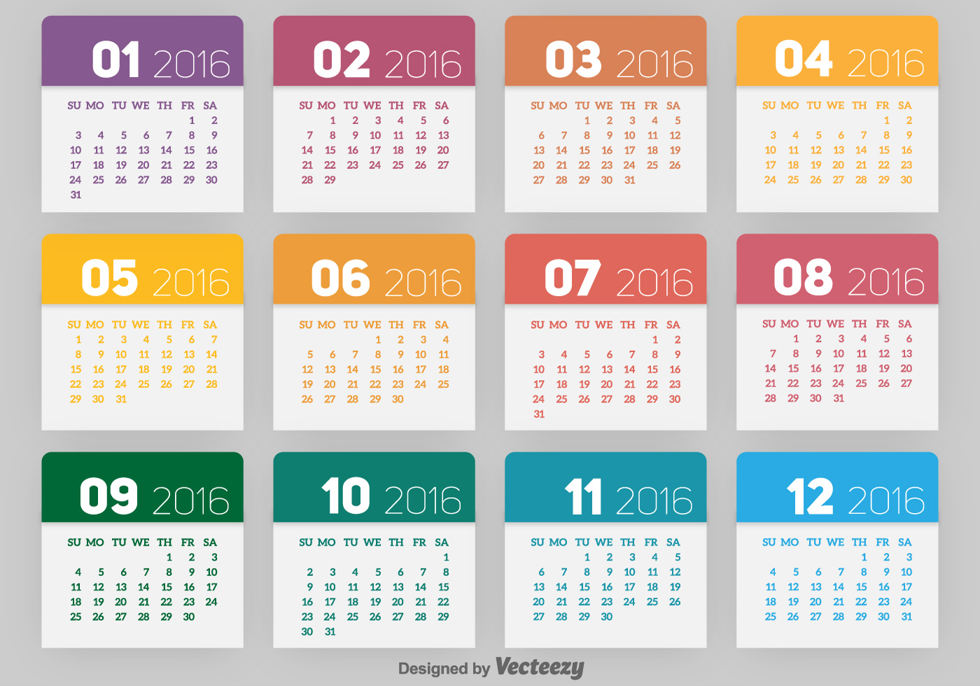 2016 Calendar Free Vector Art - (663 Free Downloads) png download