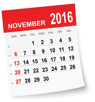 2016 calendar clipart free November calendar 2016 clipart - ClipartFest free