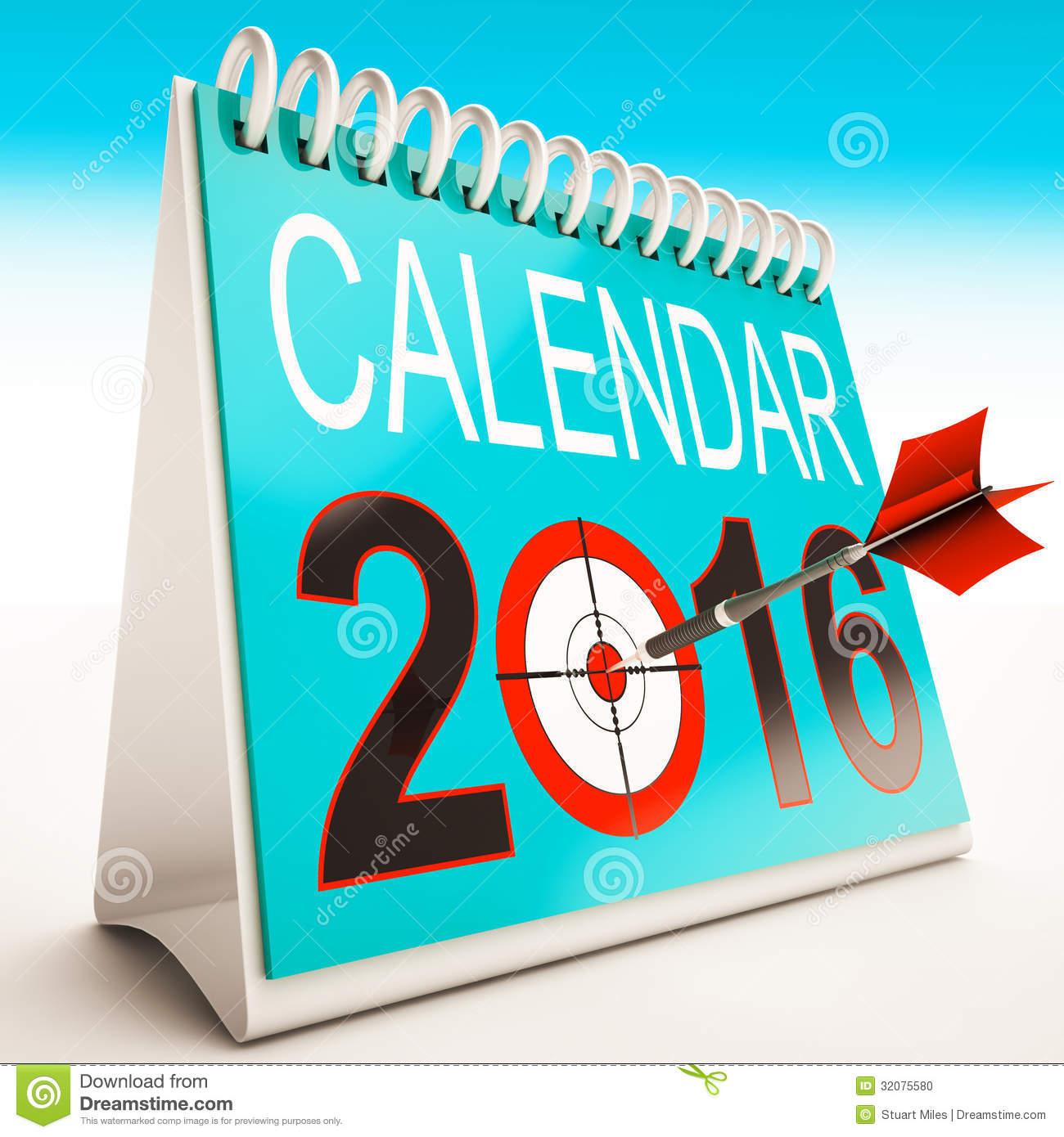 Calendar clipart 2016 - ClipartFest stock
