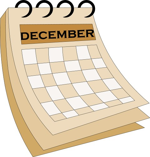 2016 calendar clipart free december clip art black and white library December Calendar Clip Art Free - Jamesrigby.net clip art black and white library