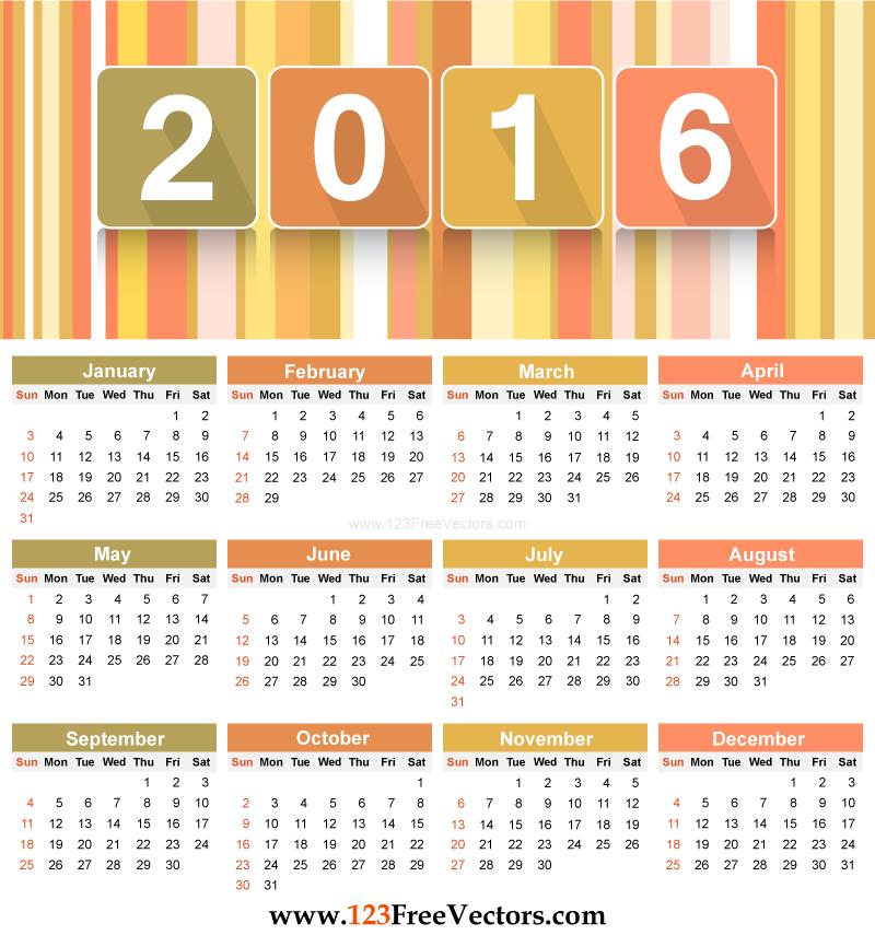 2016 calendar clipart free photoshop picture royalty free library 2016 calendar clipart free photoshop - ClipartFest picture royalty free library