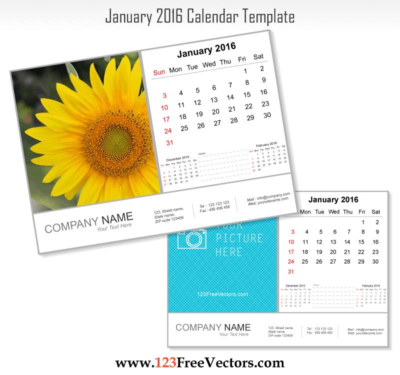 2016 calendar clipart free photoshop image royalty free download 80+ 2016 Calendar Template Vectors | Download Free Vector Art ... image royalty free download