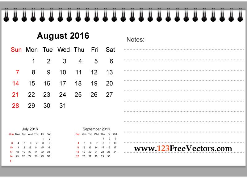 2016 calendar clipart free photoshop png stock 80+ 2016 Calendar Template Vectors | Download Free Vector Art ... png stock