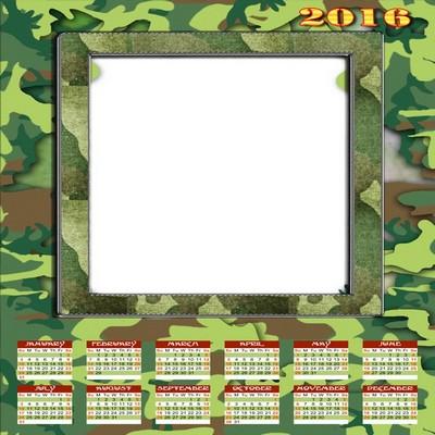 2016 calendar clipart free photoshop jpg black and white library Photo calendar template 2016 photoshop with flowers (English ... jpg black and white library