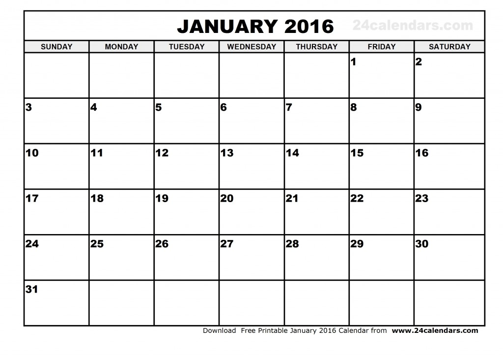 2016 calendar free clipart graphic black and white library January 2016 calendar clipart | New Hd Images graphic black and white library