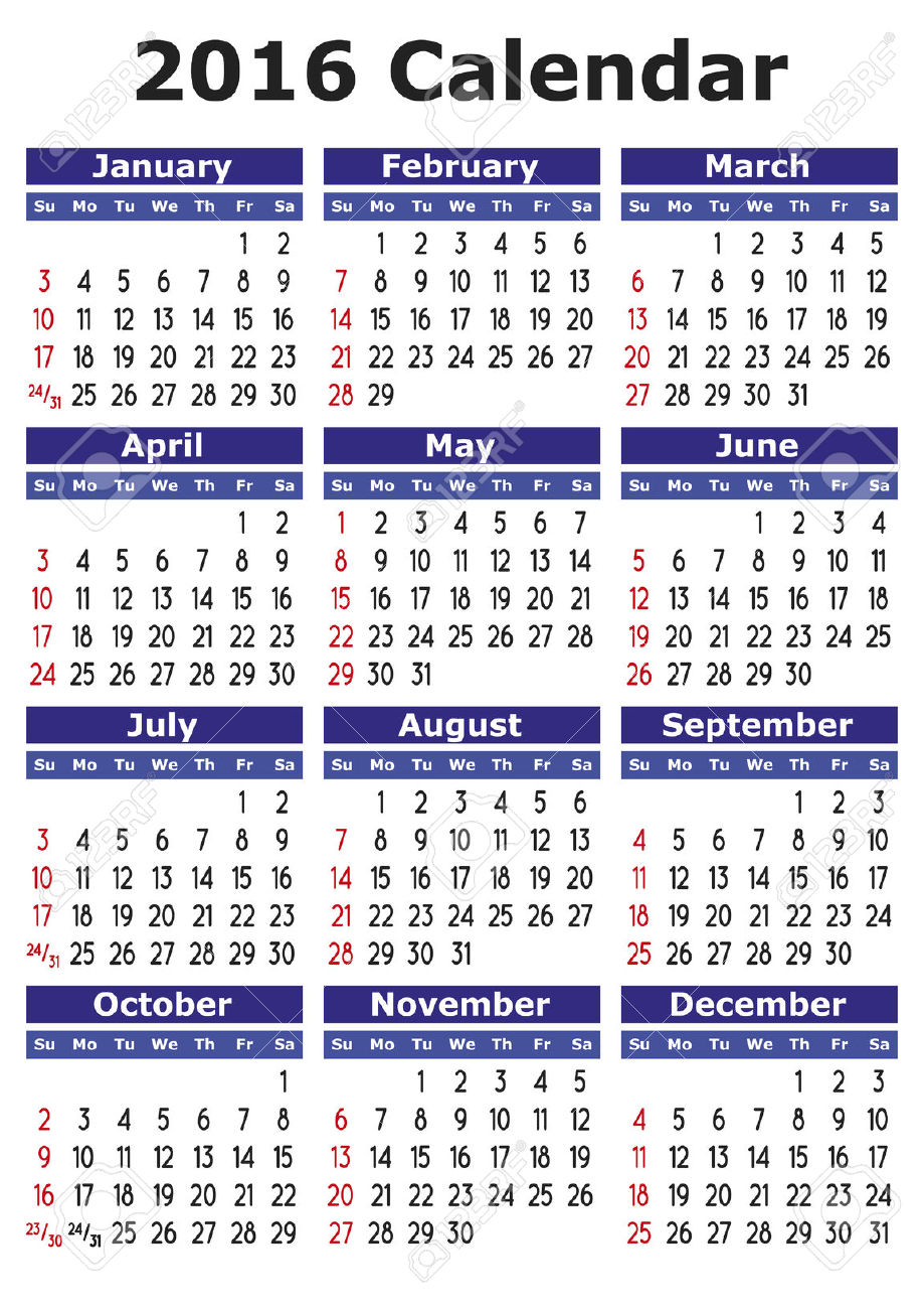 2016 calendar free clipart clipart royalty free library 0 2016 Calendar Cliparts, Stock Vector And Royalty Free 2016 ... clipart royalty free library