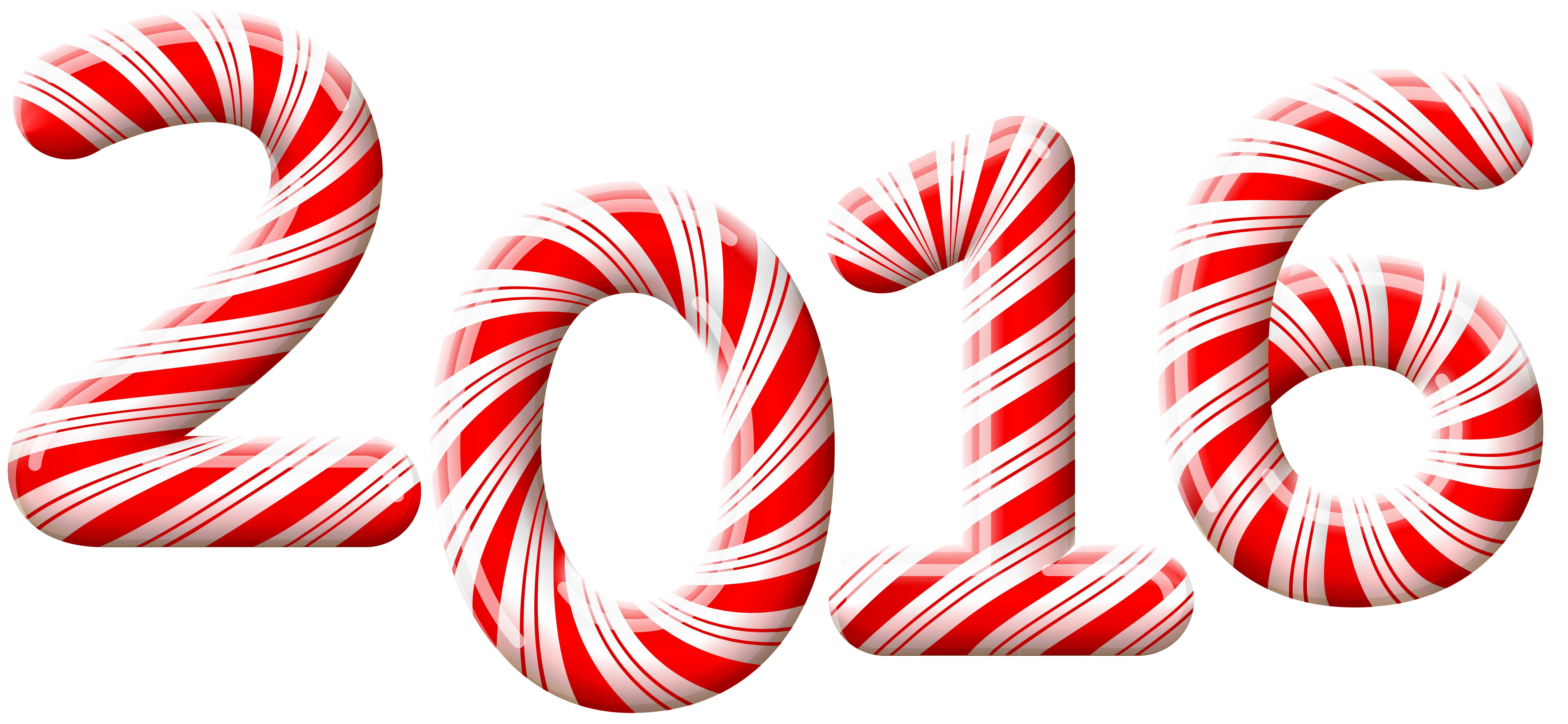 2016 christmas clipart clipart black and white download 2016 Candy Cane PNG Clip-Art Image | Gallery Yopriceville - High ... clipart black and white download