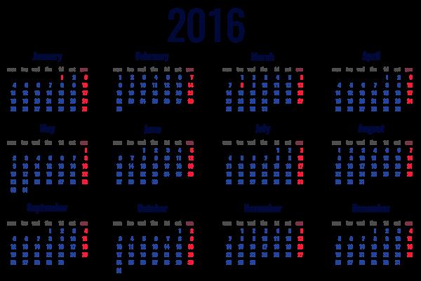 2016 clipart calendar image transparent stock 2016 Calendar Clipart | Free Download Clip Art | Free Clip Art ... image transparent stock