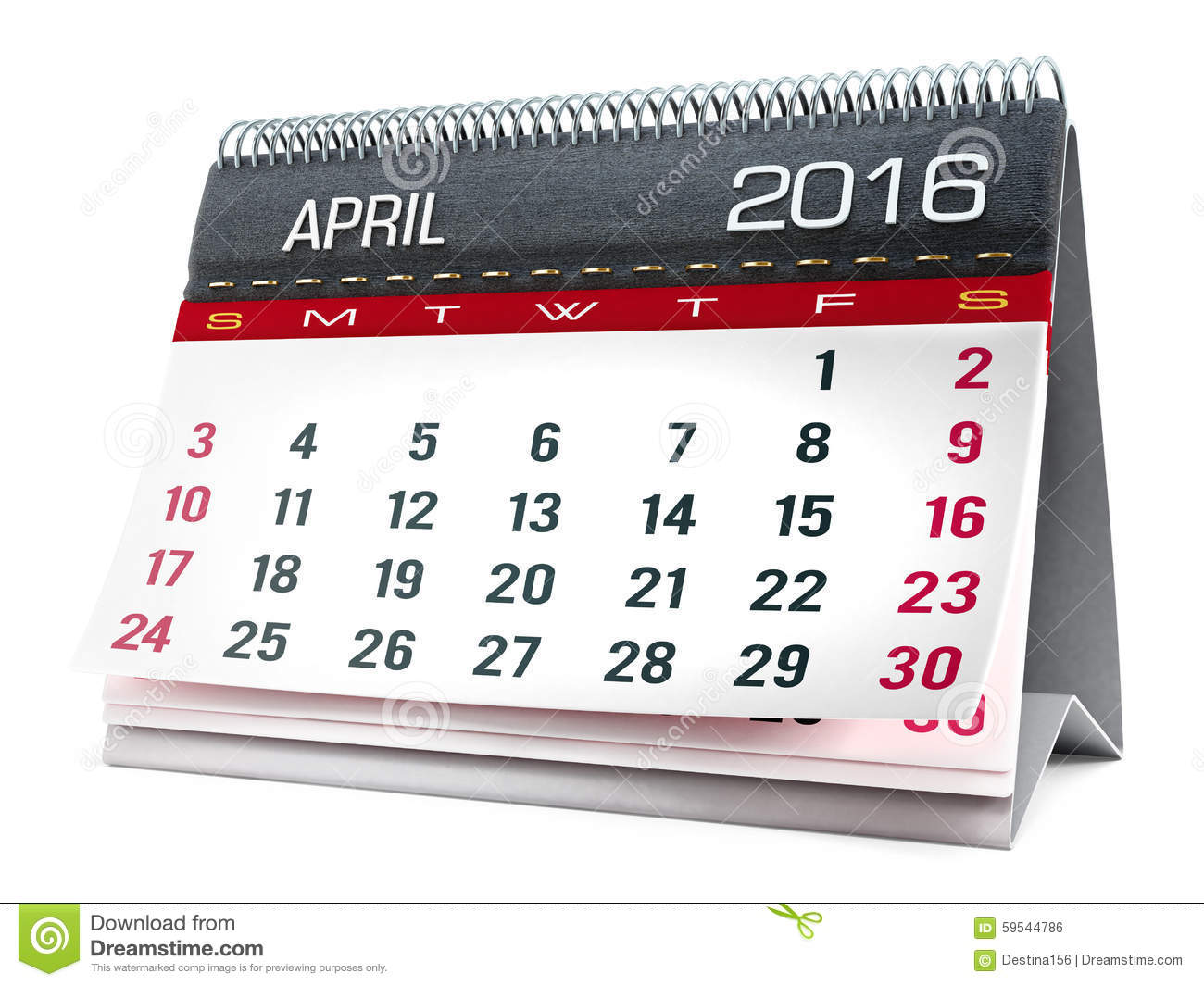 2016 january calendar clipart banner royalty free download April 2016 calendar with clipart - ClipartFest banner royalty free download