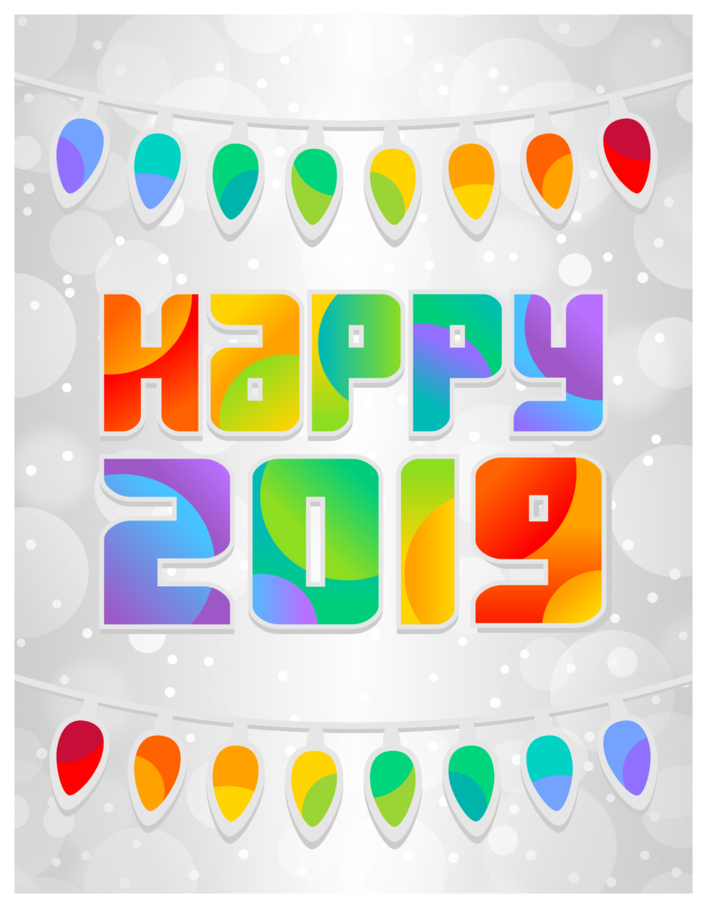 2016 new years clipart jpg library Happy New Year Clipart 2019 | New Year Images | Happy new year ... jpg library