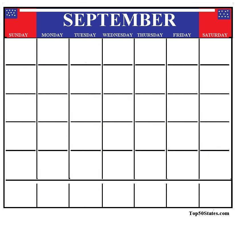 September Calendar Clipart - Clipart Kid clip art free stock