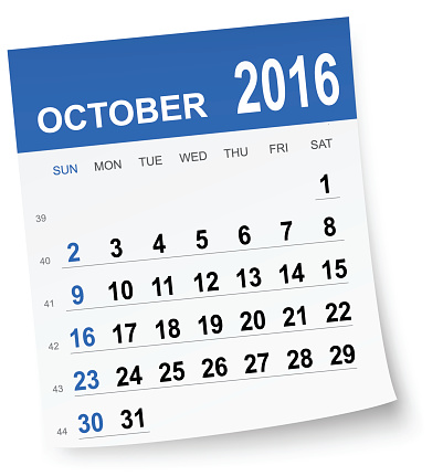 Calendar clipart for october - ClipartFest graphic library stock