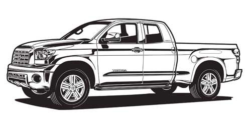 2016 toyota tundra clipart picture free download toyota tundra illustration. | draft | Team toyota, Toyota trucks, Toyota picture free download