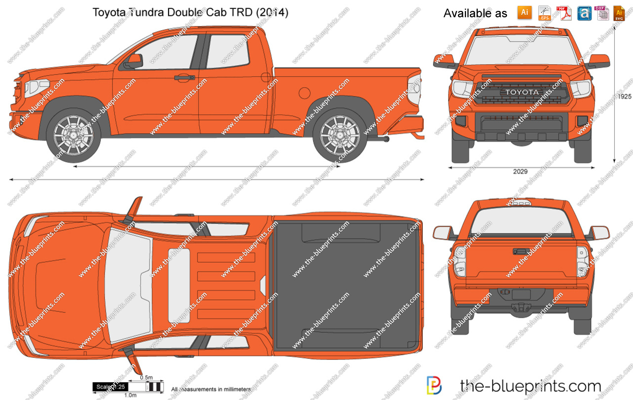 2016 toyota tundra clipart clip art transparent stock Toyota Tundra Double Cab TRD vector drawing clip art transparent stock