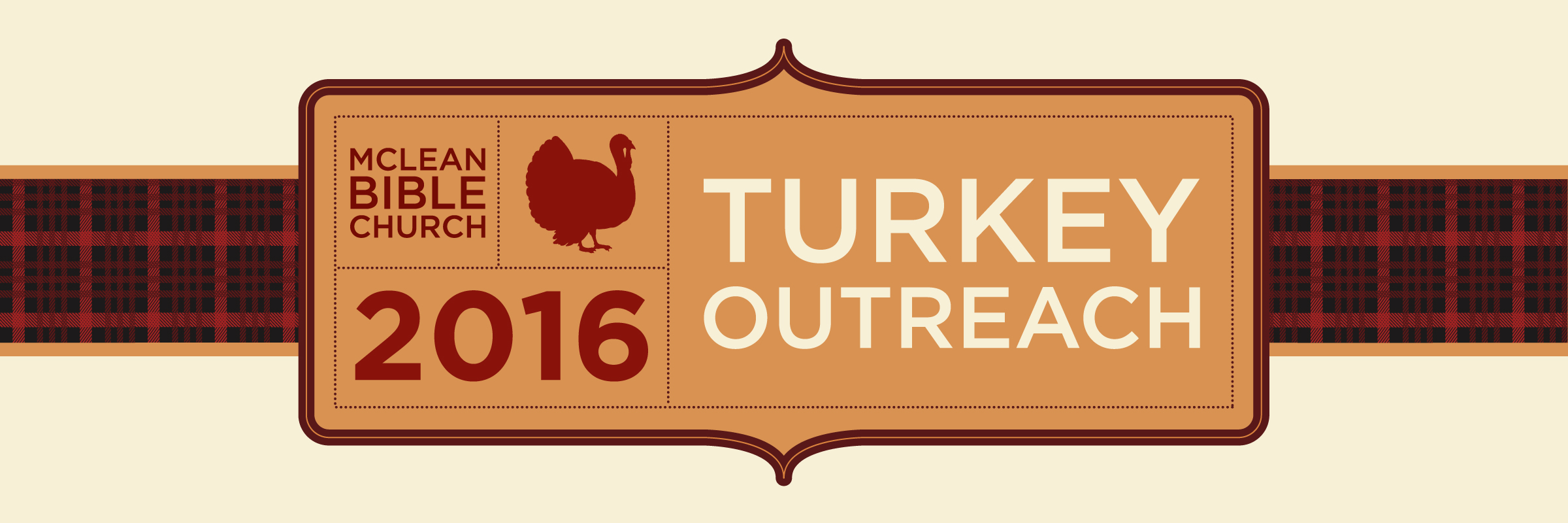2016 turkey outreach clipart graphic black and white McLean Bible Church graphic black and white