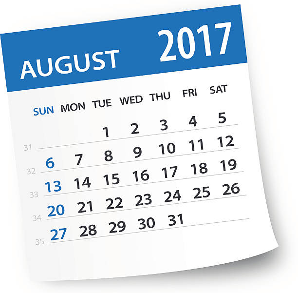 2017 august calendar clipart graphic library download August Calendar Clipart graphic library download