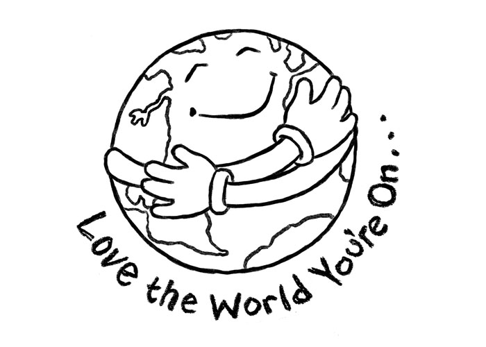 2017 clipart black and white image free Earth Day Clip Art [164+] For Kids of all Ages - April 2019 Collection image free