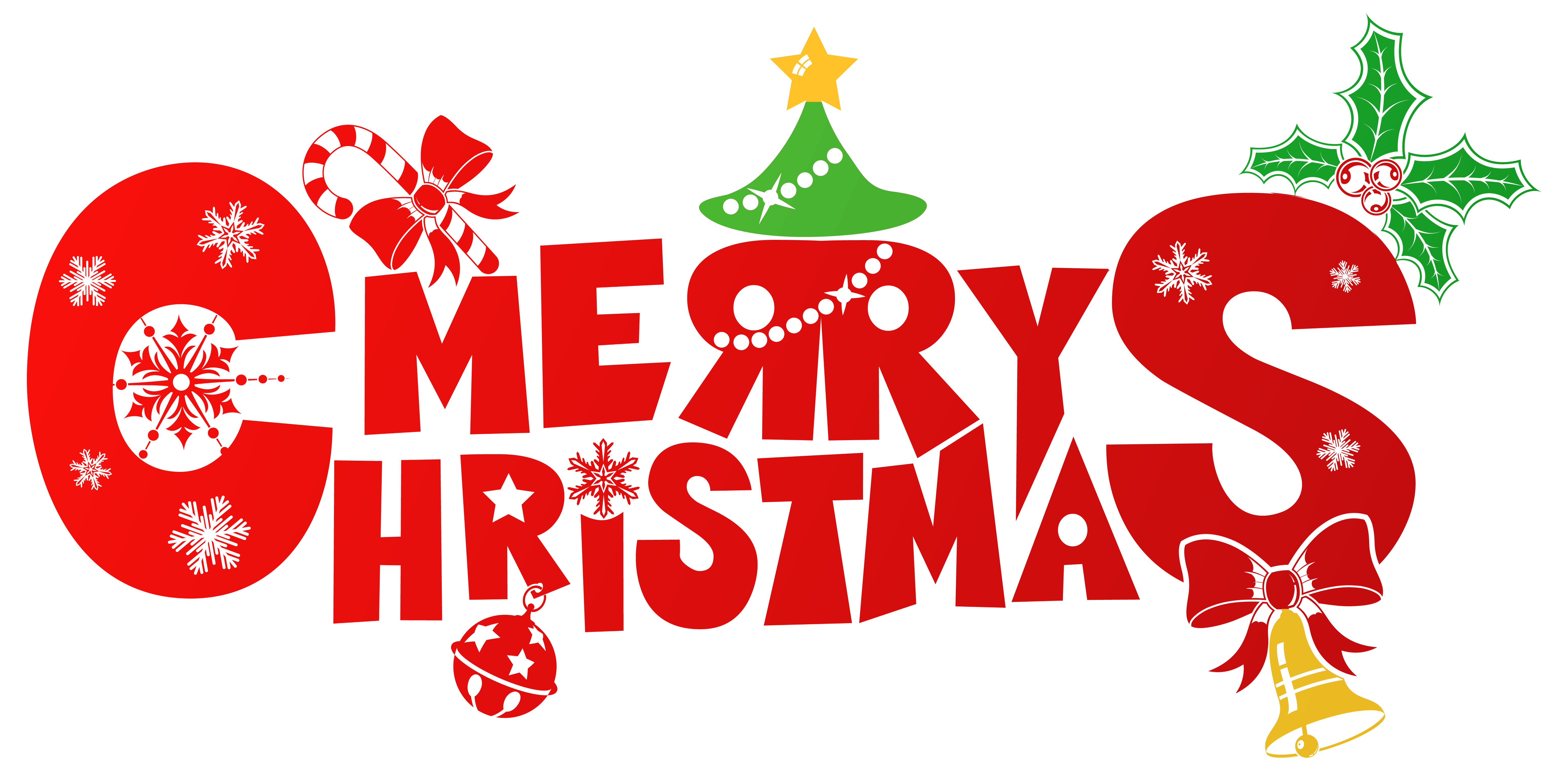 transparent background merry christmas
