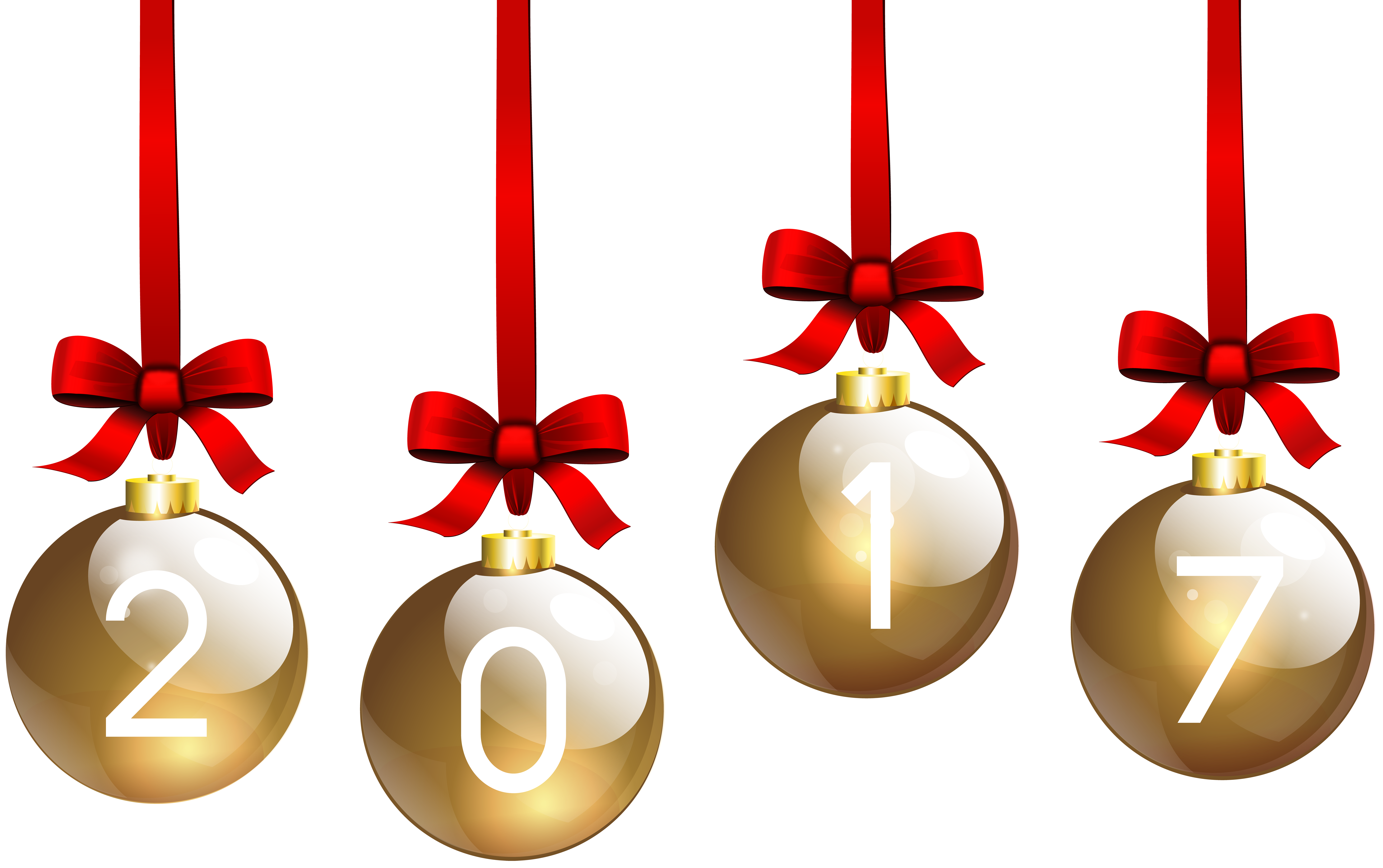 2017 clipart christmas banner free 2017 Christmas Balls Transparent PNG Clip Art | Gallery ... banner free