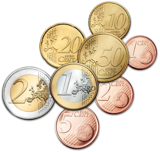 Money coins clipart