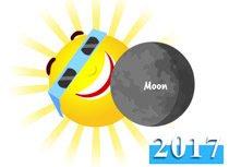 Solar Eclipse Clipart & Free Clip Art Images #16667 - Clipartimage.com black and white stock