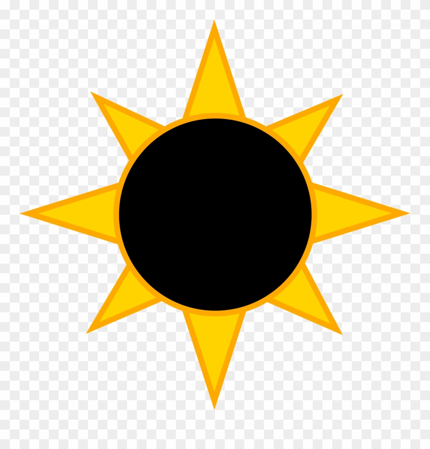 Total eclipse clipart png library stock Solar Eclipse Symbol - Eclipse Clipart - Png Download (#436237 ... png library stock