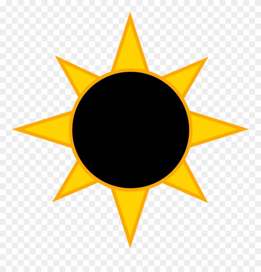 2017 eclipse clipart image transparent download Solar Eclipse Symbol - Eclipse Clipart - Png Download (#436237 ... image transparent download