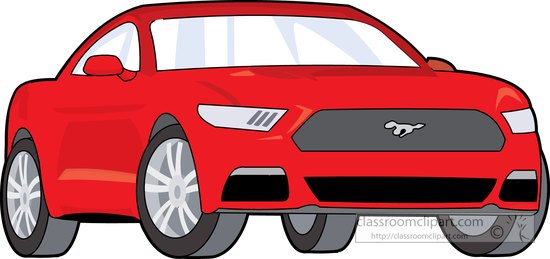 2017 ford mustang clipart picture royalty free Automobiles clipart red ford mustang clipart – Gclipart.com picture royalty free