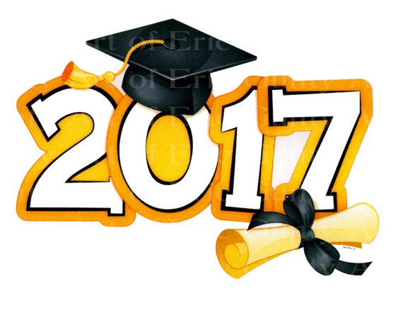 Graduation clipart 2017 graphic download Graduation 2017 Clipart - Free Clipart graphic download