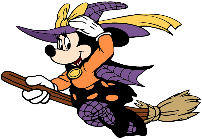 Halloween minnie mouse clipart graphic library Disney Halloween Clip Art | Disney Clip Art Galore graphic library