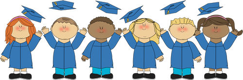 Free clipart preschool graduation graphic library library Kindergarten Graduation Clip Art & Look At Clip Art Images - ClipartLook graphic library library