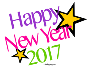 2017 new year clipart jpg royalty free stock Happy New Year Clipart To Printable Clip Art Transparent Png - AZPng jpg royalty free stock