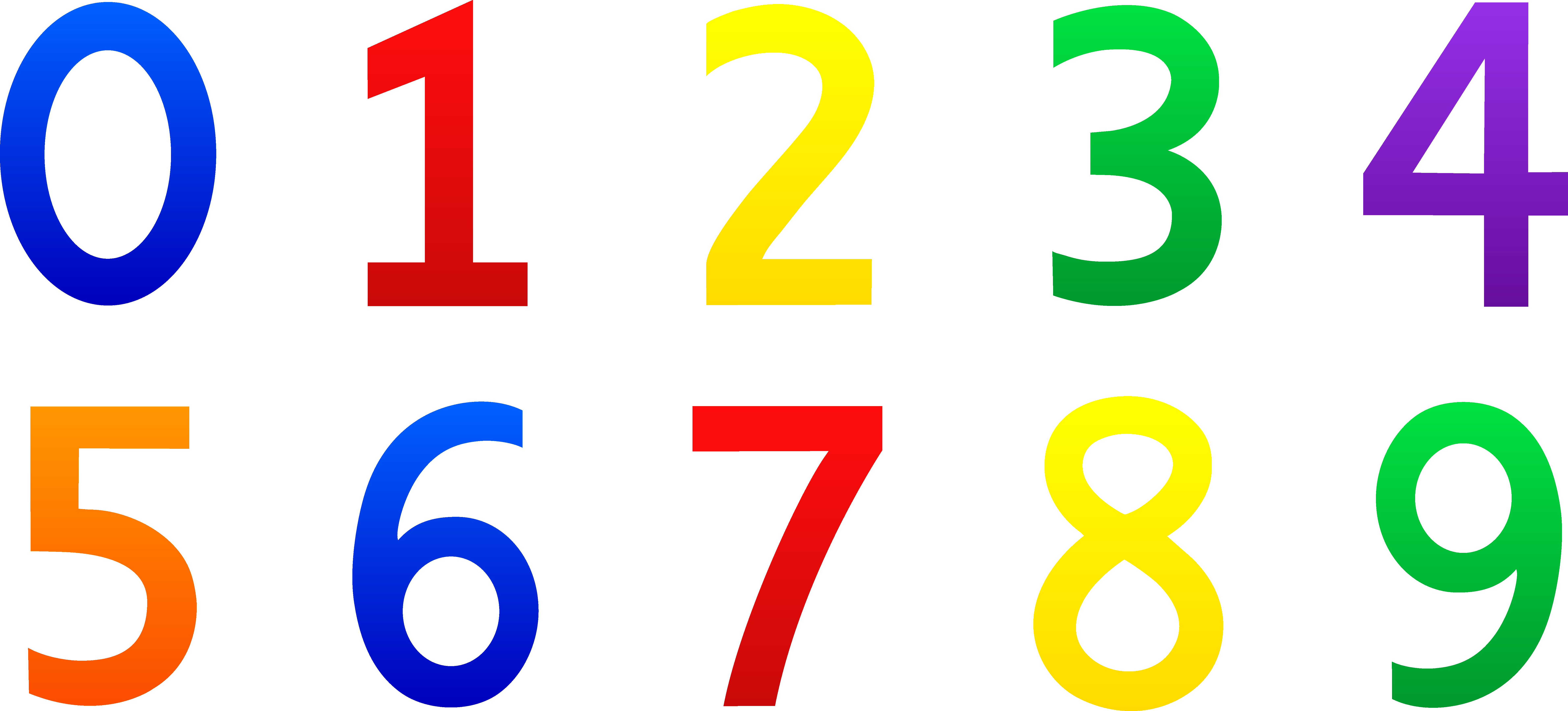 Numbers clipart 123 jpg freeuse download Numbers clipart images free 6 - ClipartAndScrap jpg freeuse download