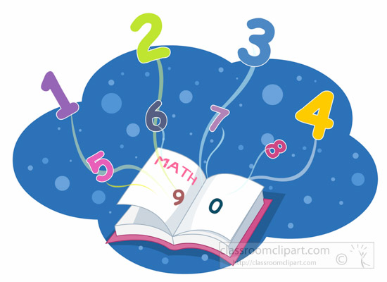 2017 numbers clipart clipart transparent Mathematics clipart math book and flying numbers clipart - ClipartPost clipart transparent