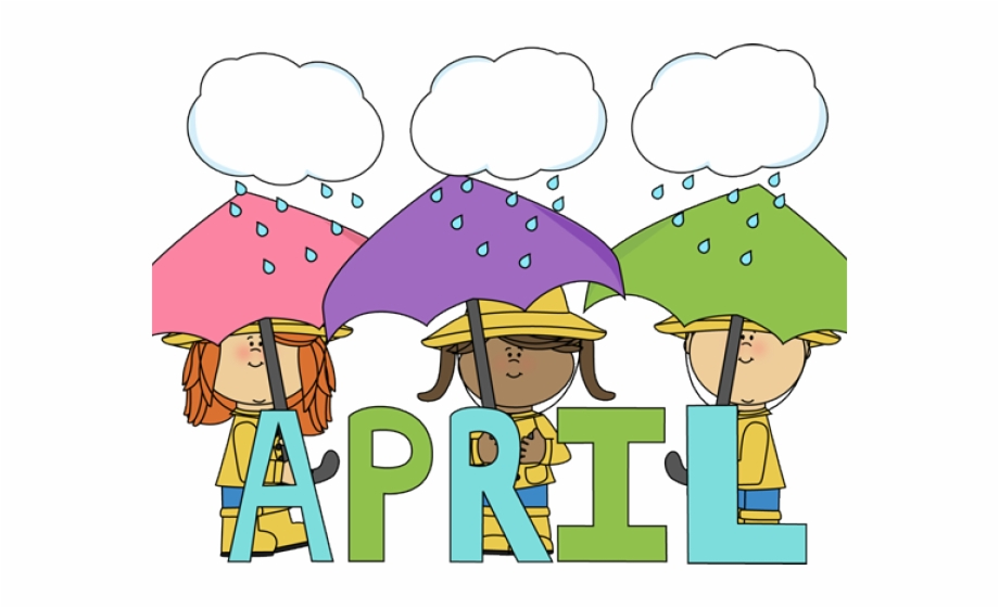 April clipart png image library Shower Clipart April Calendar - April 2018 Clip Art, Transparent Png ... image library