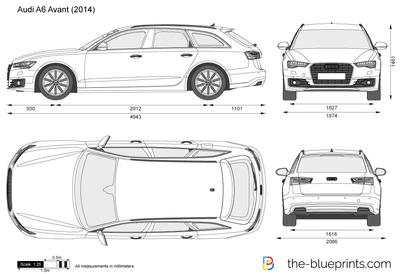 2018 audi a6 clipart jpg free Audi A6 Avant vector drawing jpg free