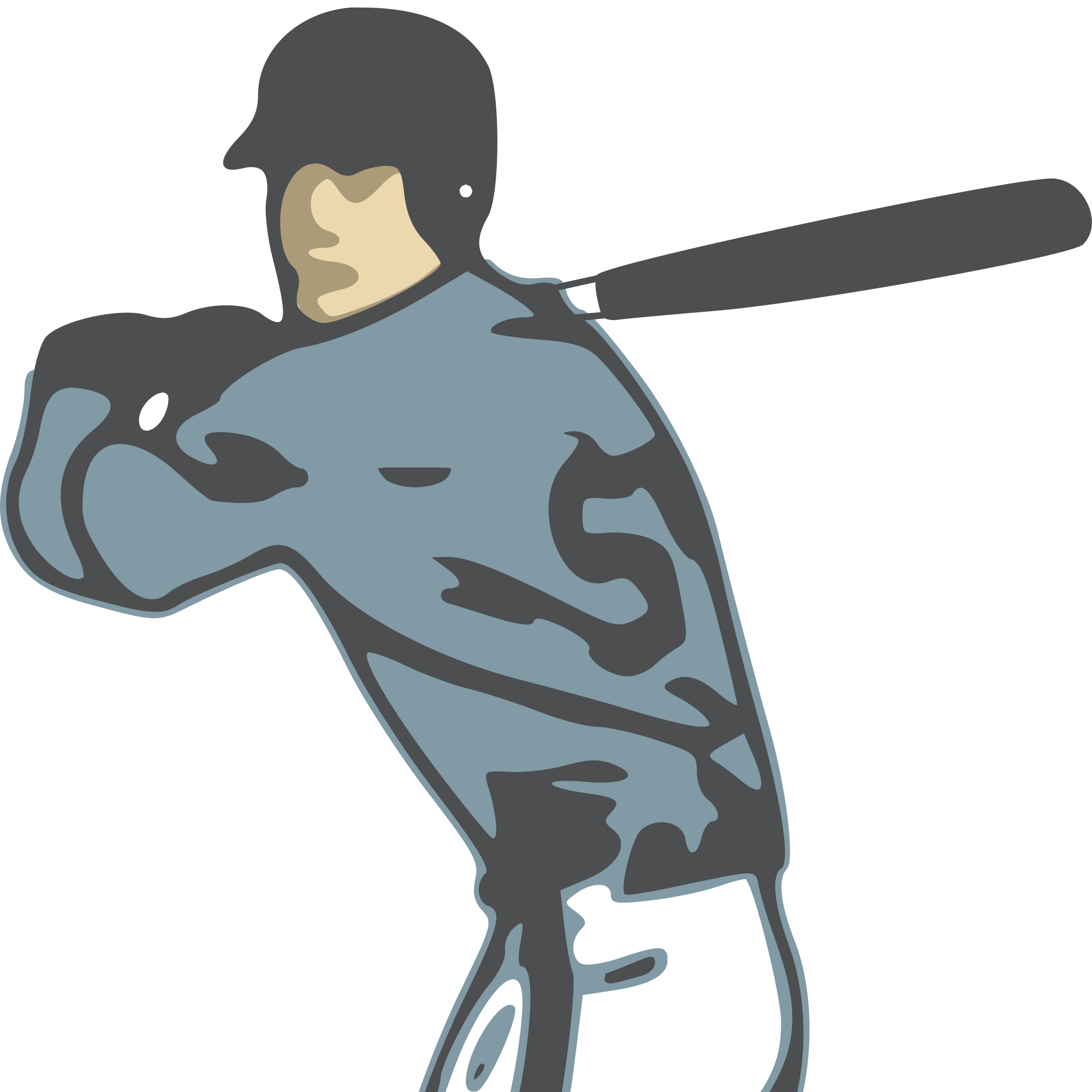 Girl hitting baseball clipart moving clipart